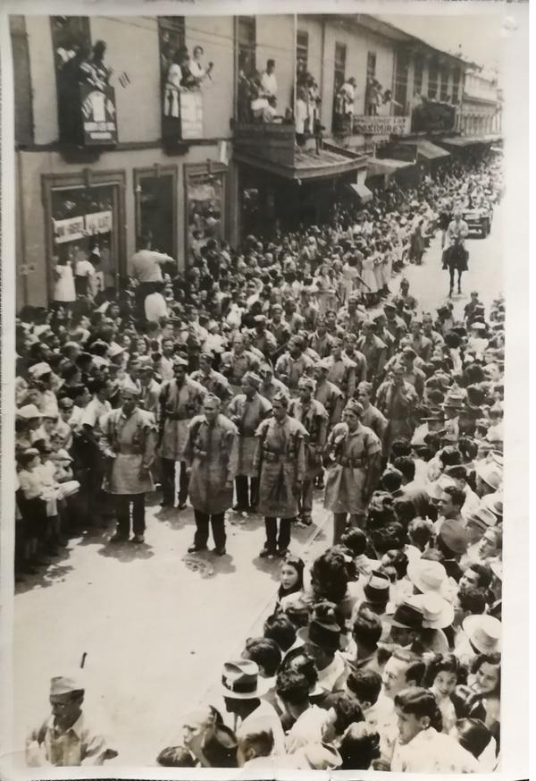Los liberacionistas ganaron la guerra y Otilio Ulate las elecciones. Foto: Archivo La Nación