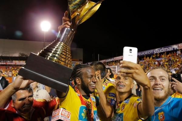 La final ante la Liga en el 2016 marcó una revancha para el goleador. Foto: Mayela López.