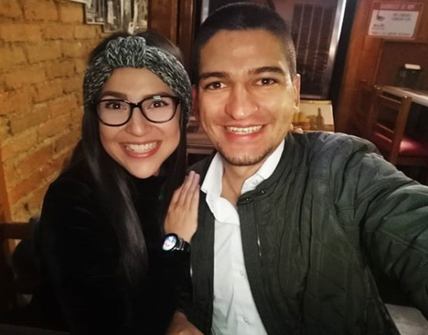 La pareja se conoció cuando trabajaban en radio Columbia. Instagram.