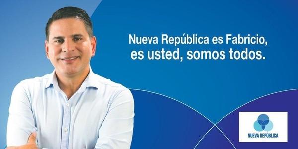 El secretario de Nueva República, Fabricio Alvarado, fue el rostro de la campaña para las elecciones municipales. Foto: Tomada de Twitter de Fabricio Alvarado