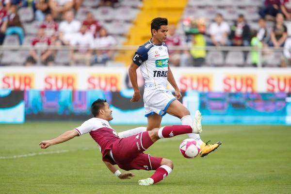 Keilor se paseó en los morados, los complicó marcando en defensa y tras de todo les hizo el gol del empate. Foto: Albert Marin