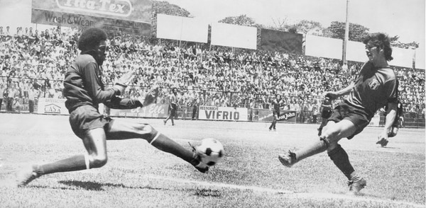 Durante su carrera, Jiménez marcó 73 pepinos con los rojinegros. La definición era uno de sus fuertes. Foto: Archivo GN.