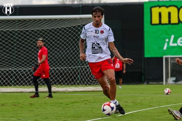 A mediados del año pasado, el Capi volvió a la Liga. Prensa Alajuelense.