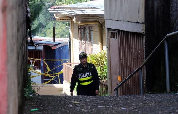 Patricia Zamora, mamá de Luany presentó una denuncia contra el OIJ. foto Alonso Tenorio
