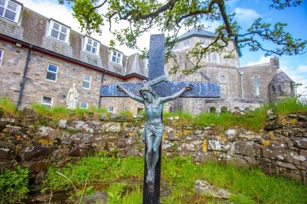 Muchos católicos llegaban cada año a este sitio de peregrinación. AFP