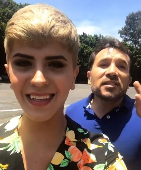 El influencer hasta vaciló en sus redes sociales con Junior Peluche. Instagram