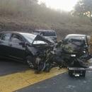 La periodista y presentadora de televisión Maricruz Leiva sufrió un grave accidente de tránsito en la ruta 27, donde también falleció una menor de edad de 17 años