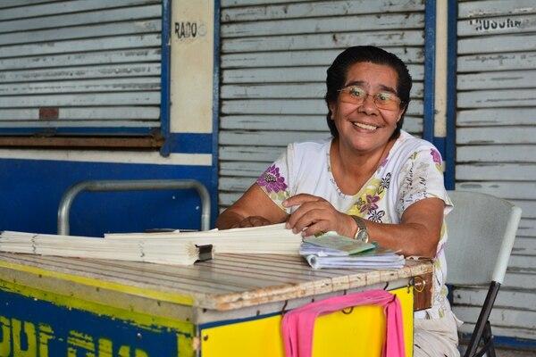 El dolor y el sacrificio hacen de doña Nuria una mamá y abuelita ejemplar. Foto: Mario Cordero