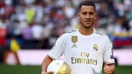 Se lesionó Eden Hazard y ahora Zidane sí quiere a James Rodríguez y a Gareth Bale