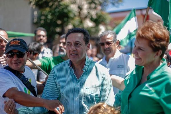 Esta no es la primera vez que el exdiputado se contradice con sus acciones. Foto: José Cordero.