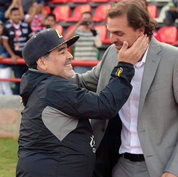 Andrés Carevic enfrentó a Diego Maradona cuando ambos eran técnicos en la Liga de Ascenso en México. Foto: Prensa Alajuelense
