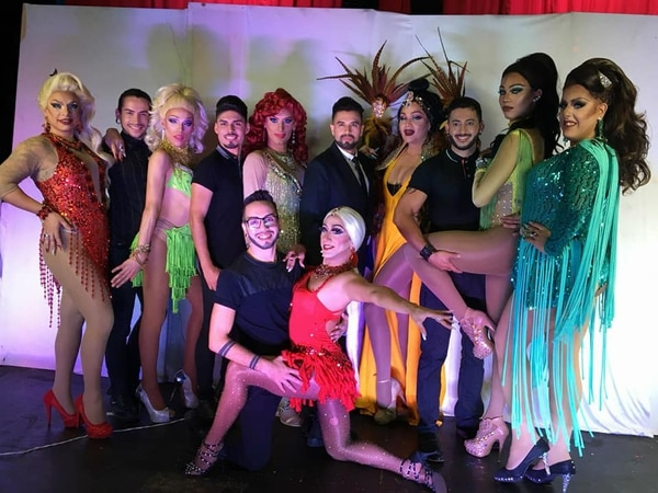 Los participantes ya realizaron la sesión para las fotos oficiales del concurso. Cortesía Dancing with the Drags.