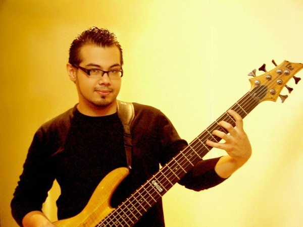 El músico José Daniel Martínez,