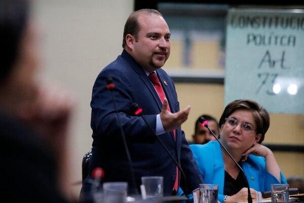 Pablo Heriberto Abarca es diputado del Partido Unidad Social Cristiana (PUSC). Foto: Mayela López
