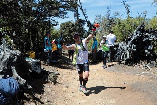 23/02/2019 Carrera de Chirripo edicción 31 ganador Juan Ramon Fallas, y Mujeres Idema Delgado #10 34 kilometros . foto Alonso Tenorio