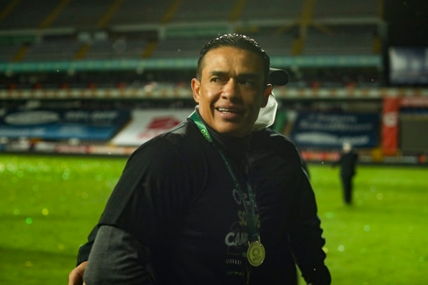 Wálter Centeno es el rival a vencer luego de alzar el título en el Clausura 2020. Fotografía José Cordero