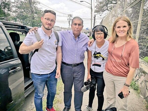 La fundación Find ayudó a la presuntas víctimas del excura Mauricio Víquez en su visita a México.