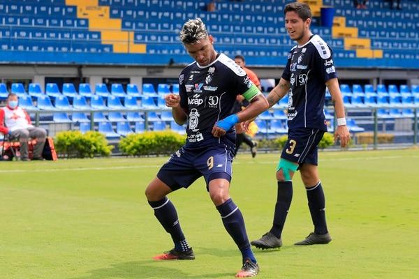 En el 2020 Marcel Hernández marcó 20 goles con el Cartaginés. Foto: Rafael Pacheco