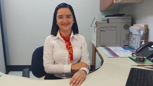 Kattia Rojas León, coordinadora del servicio de sicología del Hospital San Vicente de Paul de Heredia.