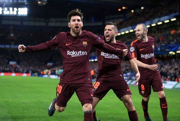 El Barcelona viene de empatar a un gol contra el Chelsea, por la Champions League. (Nick Potts/PA via AP)