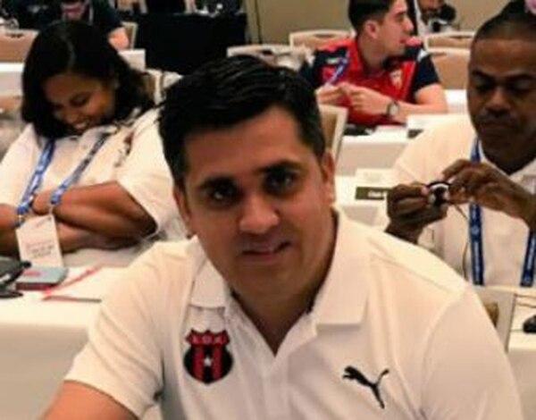 Ferlin Fuentes es el encargado de comunicación en Alajuelense Foto: Archivo