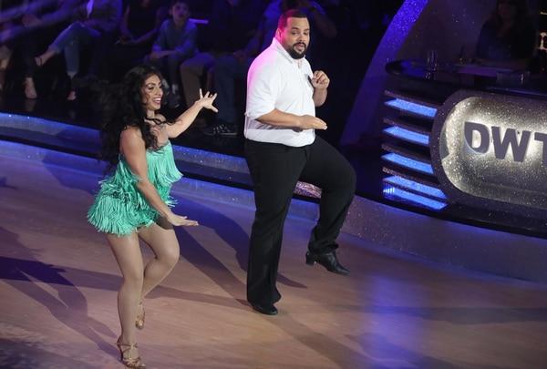 Gustavo Gamboa ha sido la sorpresa en la cuarta temporada de la competencia de baile. Fotografia: Graciela Solís.
