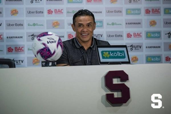 El buen colchón de puntos que tiene el Monstruo le da mucha tranquilidad a Wálter. Foto: Deportivo Saprissa