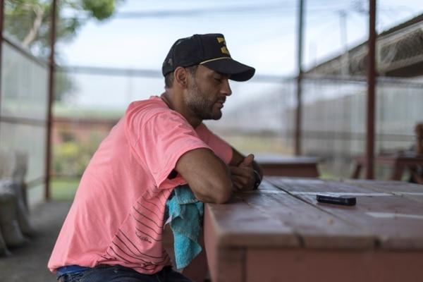 El recluso se arrepiente de muchas cosas que ha hecho en prisión. Foto: José Cordero.