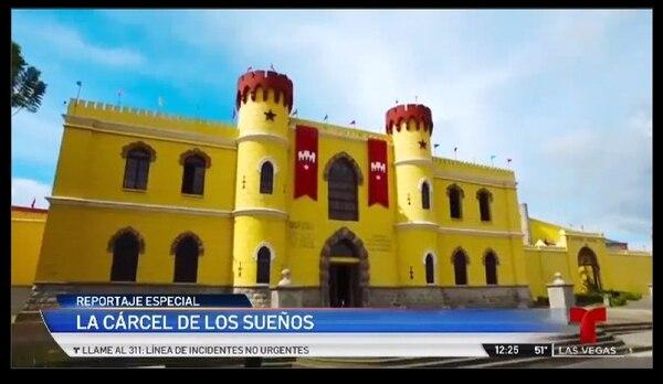 El Castillo de los sueños se lució en Telemundo. Cortesía.