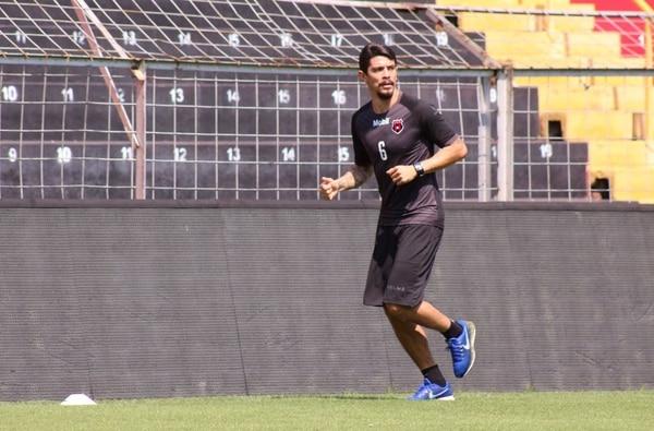 Chepillo espera regresar pronto a las canchas cuando arranque el torneo Clausura 2019. Fotografía: Prensa Alajuelense