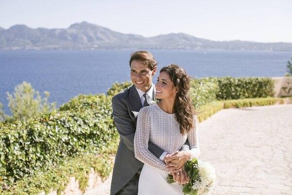 La boda del tenista fue el 19 de octubre. Fundación Rafael Nadal