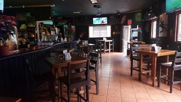 La capacidad del bar es de 35 personas, ya ajustada a la mitad.Foto: Cortesía