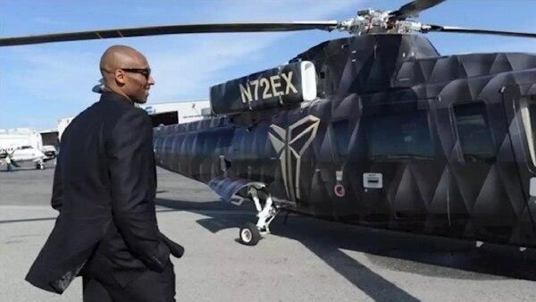 Kobe murió en un accidente de helicóptero. Archivo
