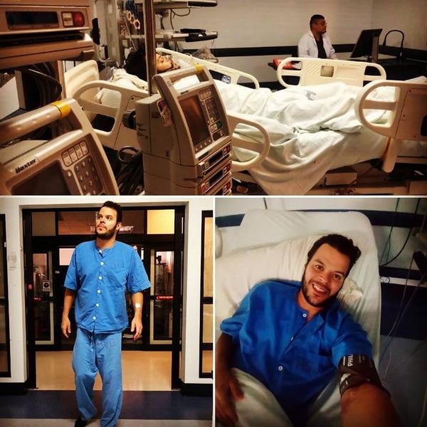 Jason vivió momentos muy críticos de salud durante su hospitalización y aseguró que pudo sentir en varias ocasiones la muerte muy de cerca. Facebook.
