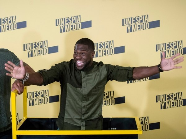 Kevin Hart, actor.