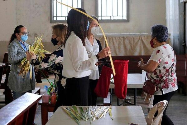 La celebración del Domingo de Ramos marca el inicio de la Semana Santa. Foto: Rafael Pacheco.