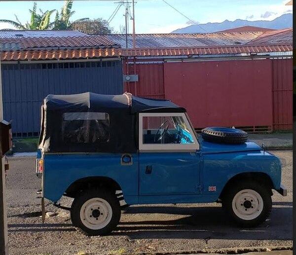El carrito es una joya. Cortesía Freddy Calvo.