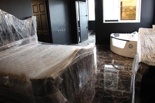 Era todo un gusto ver los pisos de la casota por lo brillante, parecían de mármol. Foto: OIJ