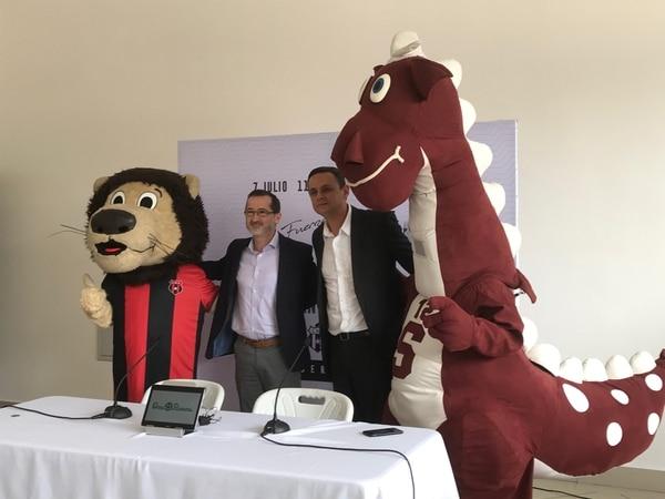 Los presis, Fernando Ocampo y Juan Carlos Rojas están apuntados con la iniciativa. Foto: Daniel Jiménez