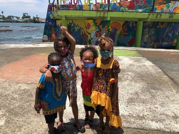Durante este fin de semana se realizaron algunas actividades simbólicas de celebración en la comunidades de Limón Centro, Cahuita, Puerto Viejo y Guapiles.