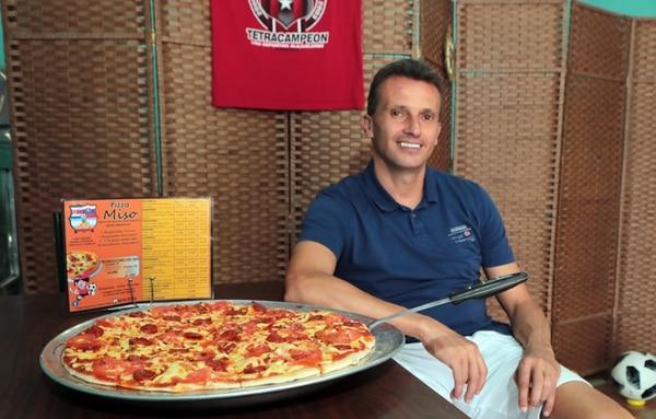 La pizza eslovaca de Miso es todo un golazo de sabor. Foto: Alonso Tenorio.