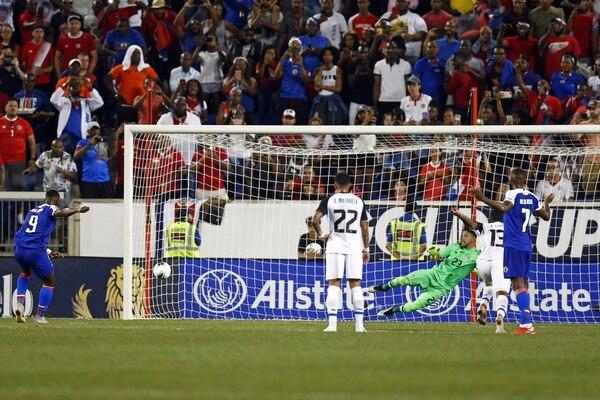 Perder ante una selección como Haití va a ser muy perjudicial porque se pierden muchos puntos. Foto: AFP.