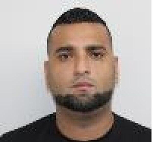 Kenneth Francisco Díaz Gutiérrez, sentenciado por el delito de portación ilícita de arma, requerido por el Tribunal de Juicio de Flagrancia de Puntarenas. Foto: OIJ