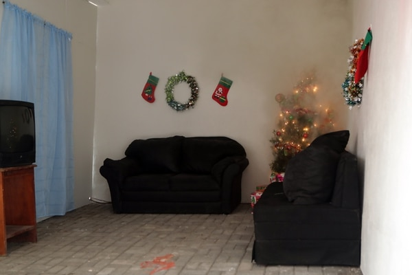 Casi todos los niños se queman en su casa. Foto Alonso Tenorio
