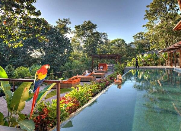 Nayara Springs es un lujoso hotel en la bella zona sancarleña. Foto: Archivo GN