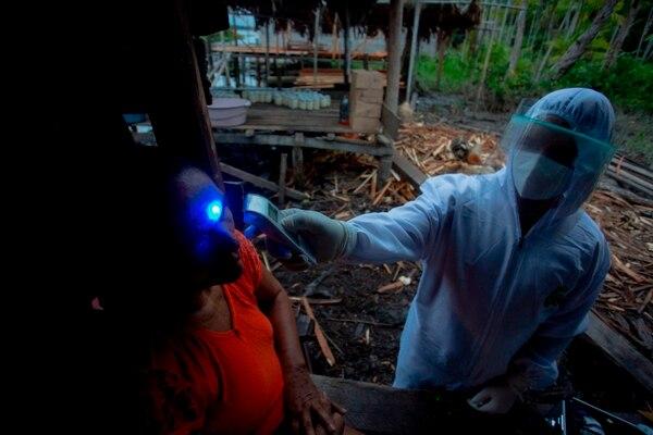 Brasil es el segundo país con más casos de covid-19, con casi 3 millones. AFP