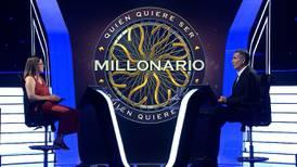 Participante de ¿Quién quiere ser millonario? se retiró con 5 millones y piropo a Ignacio Santos