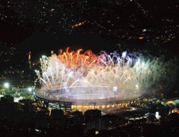 En el 2007, el Maracaná tuvo en sus instalaciones la inauguración de los Juegos Panamericanos.EFE