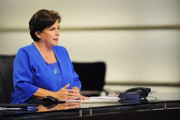 Desde que dejó el set de Telenoticias, en el 2013, la periodista se mantuvo algo alejada de los medios de comunicación. Archivo