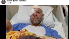 Periodista Gerardo Zamora sigue internado en el hospital